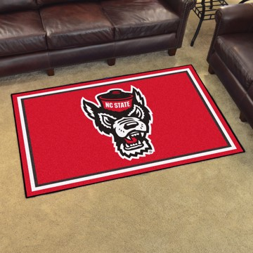 Picture of NC State 4'x6' Plush Rug