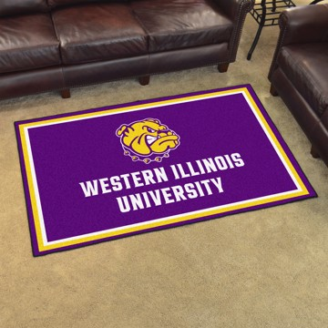 Picture of Western Illinois 4'x6' Plush Rug