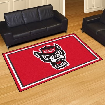 Picture of NC State 5'x8' Plush Rug