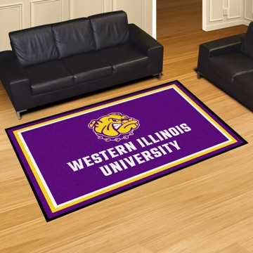 Picture of Western Illinois 5'x8' Plush Rug
