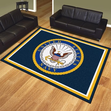 Picture of U.S. Navy 8'x10' Plush Rug