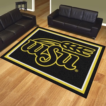 Picture of Wichita State 8'x10' Plush Rug