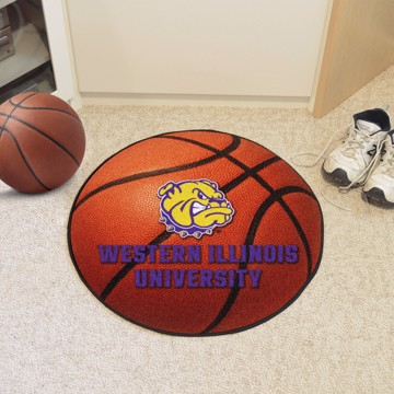 Picture of Western Illinois Basketball Mat