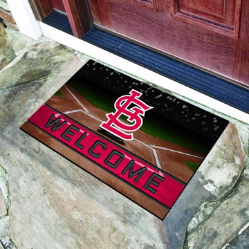 Picture of MLB - St. Louis Cardinals Crumb Rubber Door Mat