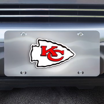 Picture of NFL - Kansas City Chiefs Diecast License Plate
