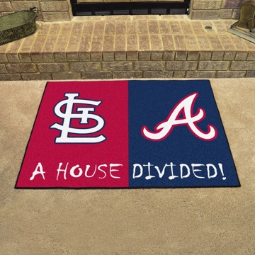 Picture of MLB House Divided - Cardinals / Braves