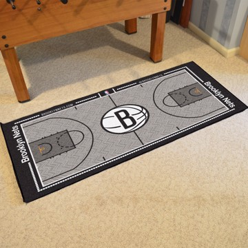 Picture of NBA - Brooklyn Nets NBA Court Large Runner