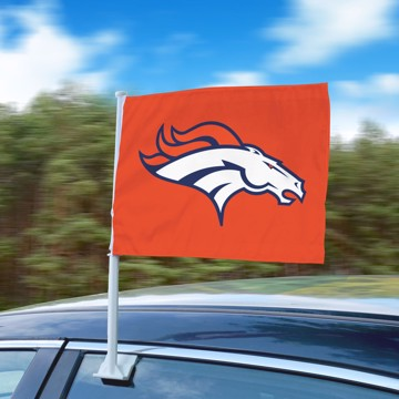 Picture of NFL - Denver Broncos Car Flag
