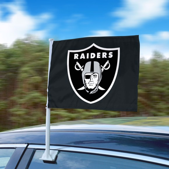 Nfl Las Vegas Raiders Car Flag Fanmats Sports Licensing Solutions Llc