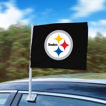 Picture of NFL - Pittsburgh Steelers Car Flag