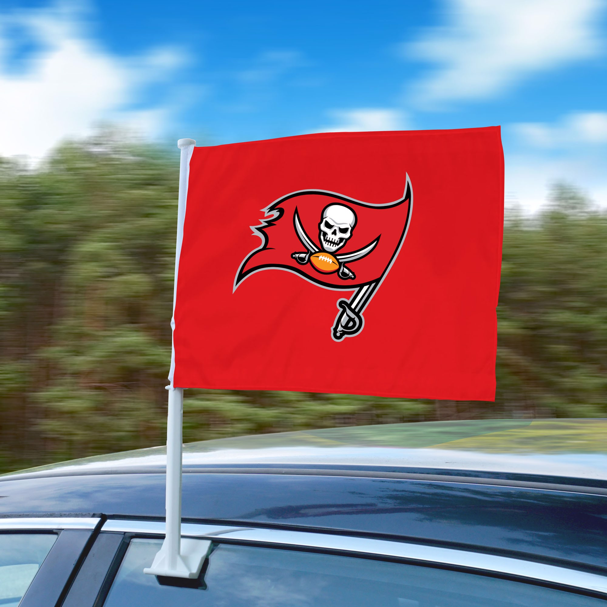 Nfl Tampa Bay Buccaneers Car Flag Fanmats Sports Licensing Solutions Llc