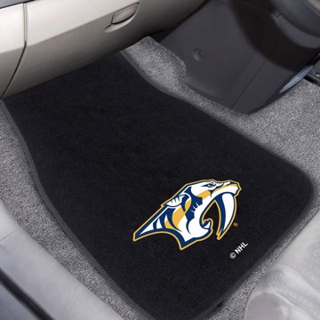 Picture of NHL - Nashville Predators 2-pc Embroidered Car Mat Set