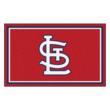Picture of MLB - St. Louis Cardinals 4x6 Rug