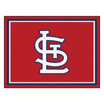 Picture of MLB - St. Louis Cardinals 8x10 Rug