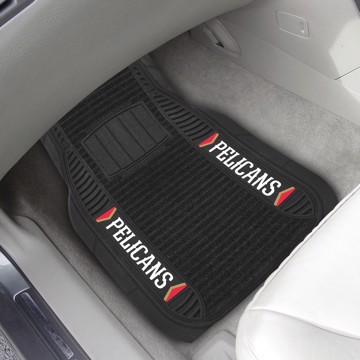 Picture of NBA - New Orleans Pelicans 2-pc Deluxe Car Mat Set
