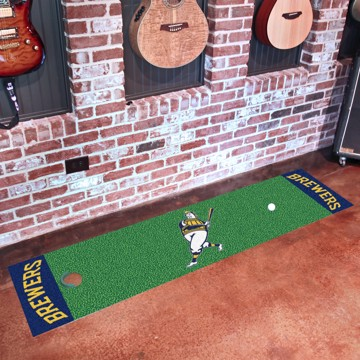 Picture of MLB - Milwaukee Brewers Putting Green Mat