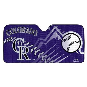 Picture of MLB - Colorado Rockies Auto Shade