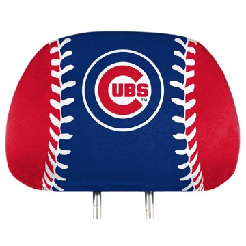 Picture of MLB - Chicago Cubs Printed Headrest Cover