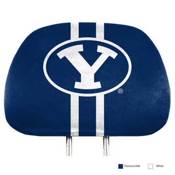 Picture of BYU Printed Headrest Cover
