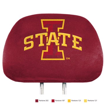 Picture of Iowa State Printed Headrest Cover
