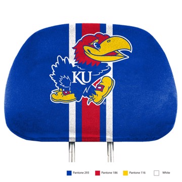 Picture of Kansas Printed Headrest Cover