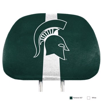Picture of Michigan State Printed Headrest Cover