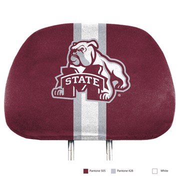 Picture of Mississippi State Printed Headrest Cover