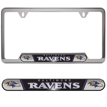 Picture of NFL - Baltimore Ravens Embossed License Plate Frame