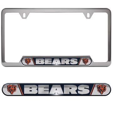 Picture of NFL - Chicago Bears Embossed License Plate Frame