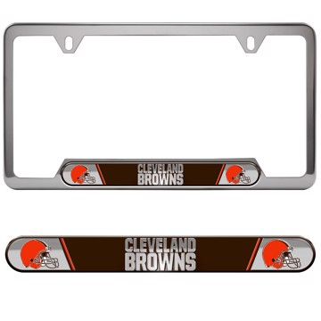 Picture of NFL - Cleveland Browns Embossed License Plate Frame