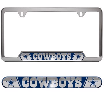 Picture of NFL - Dallas Cowboys Embossed License Plate Frame