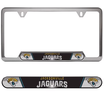 Picture of NFL - Jacksonville Jaguars Embossed License Plate Frame