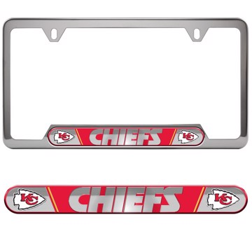 Picture of NFL - Kansas City Chiefs Embossed License Plate Frame