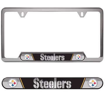 Picture of NFL - Pittsburgh Steelers Embossed License Plate Frame