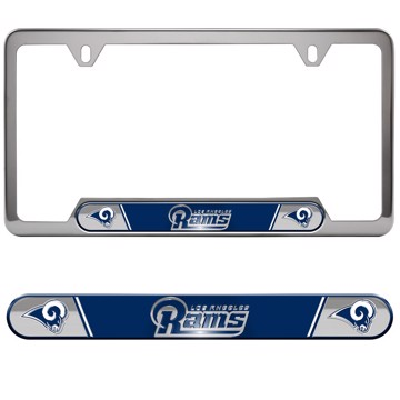 Picture of NFL - Los Angeles Rams Embossed License Plate Frame