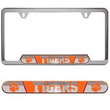 Picture of Clemson Embossed License Plate Frame