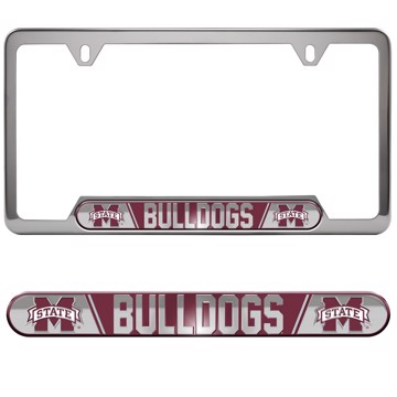 Picture of Mississippi State Embossed License Plate Frame