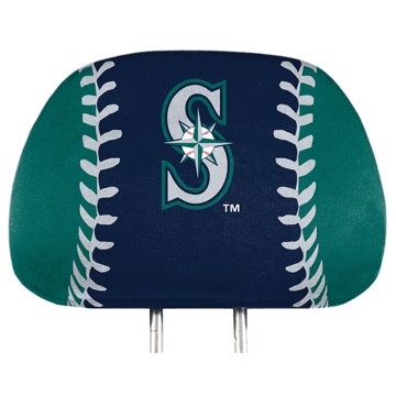 Picture of MLB - Seattle Mariners Printed Headrest Cover