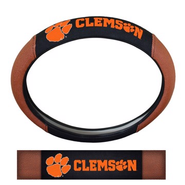 Picture of Clemson Sports Grip Steering Wheel Cover