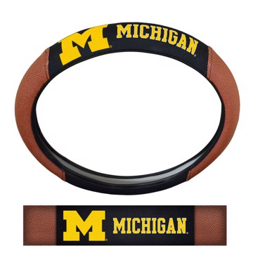Picture of Michigan Sports Grip Steering Wheel Cover