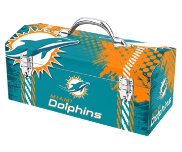 Picture of NFL - Miami Dolphins Tool Box