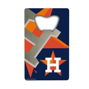Picture of MLB - Houston Astros Credit Card Bottle Opener