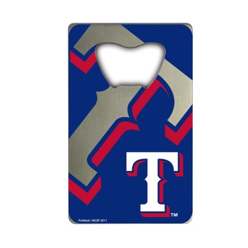 Picture of MLB - Texas Rangers Credit Card Bottle Opener