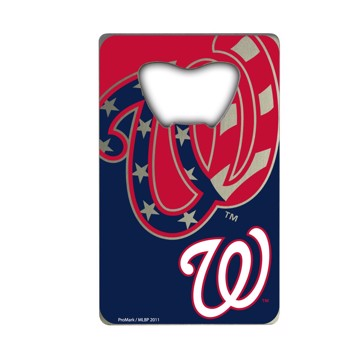 Picture of MLB - Washington Nationals Credit Card Bottle Opener
