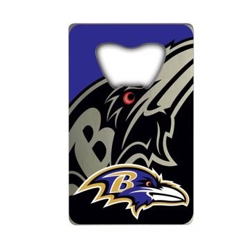 Picture of NFL - Baltimore Ravens Credit Card Bottle Opener