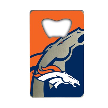 Picture of NFL - Denver Broncos Credit Card Bottle Opener