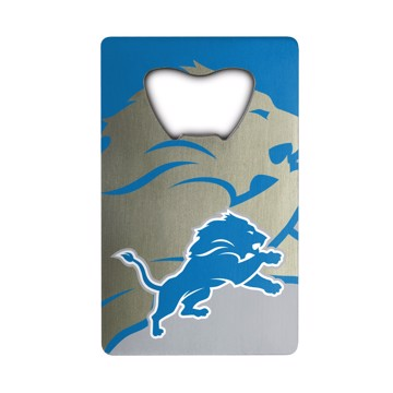 Picture of NFL - Detroit Lions Credit Card Bottle Opener