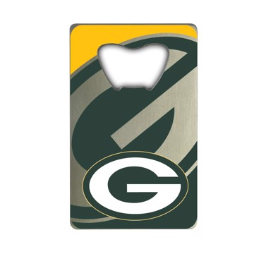 Picture of NFL - Green Bay Packers Credit Card Bottle Opener