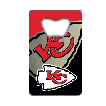 Picture of NFL - Kansas City Chiefs Credit Card Bottle Opener