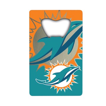 Picture of NFL - Miami Dolphins Credit Card Bottle Opener